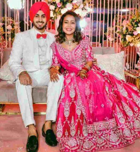 Neha Kakkar Husband name is Rohanpreet Singh